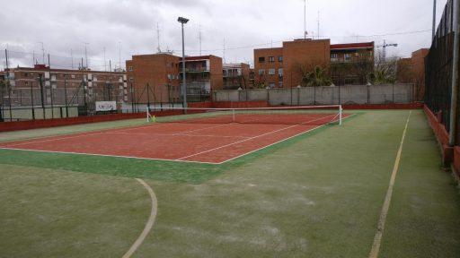 Pista 1 dónde dar clases de tenis en Madrid