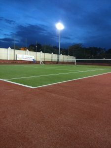 Pista 2 dónde se dan clases de tenis en Madrid