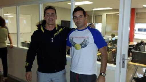 Javier Capitaine clases de tenis Madrid