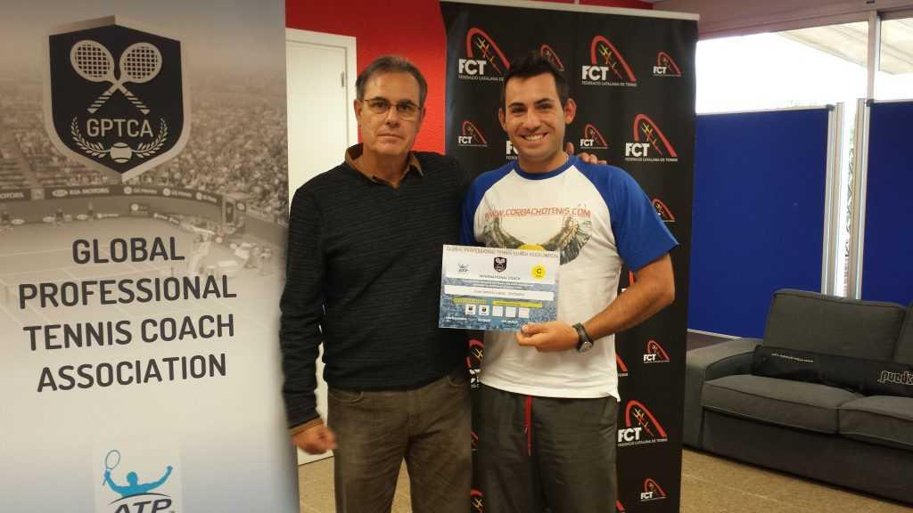 Clases de tenis en Madrid Formacion ATP Jose Perlas
