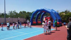 Clases de tenis para niños pequeños en Madrid