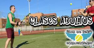 Clases de tenis para adultos en Madrid