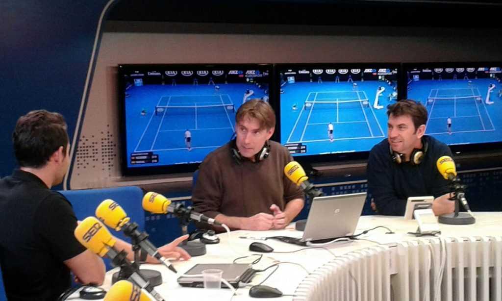 Corbachotenis en Cadena Ser Clases de tenis