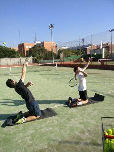 Clases de tenis para niños avanzado Madrid