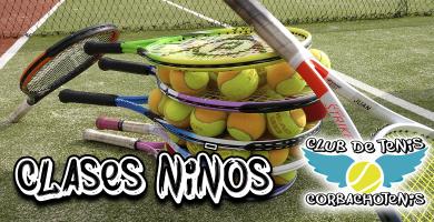 Clases tenis escuela ninos madrid